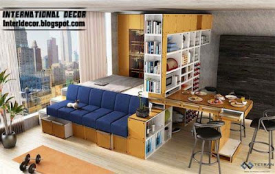Interior Decor Idea Transforming Furniture For Small Apartments 2014 11 Mod