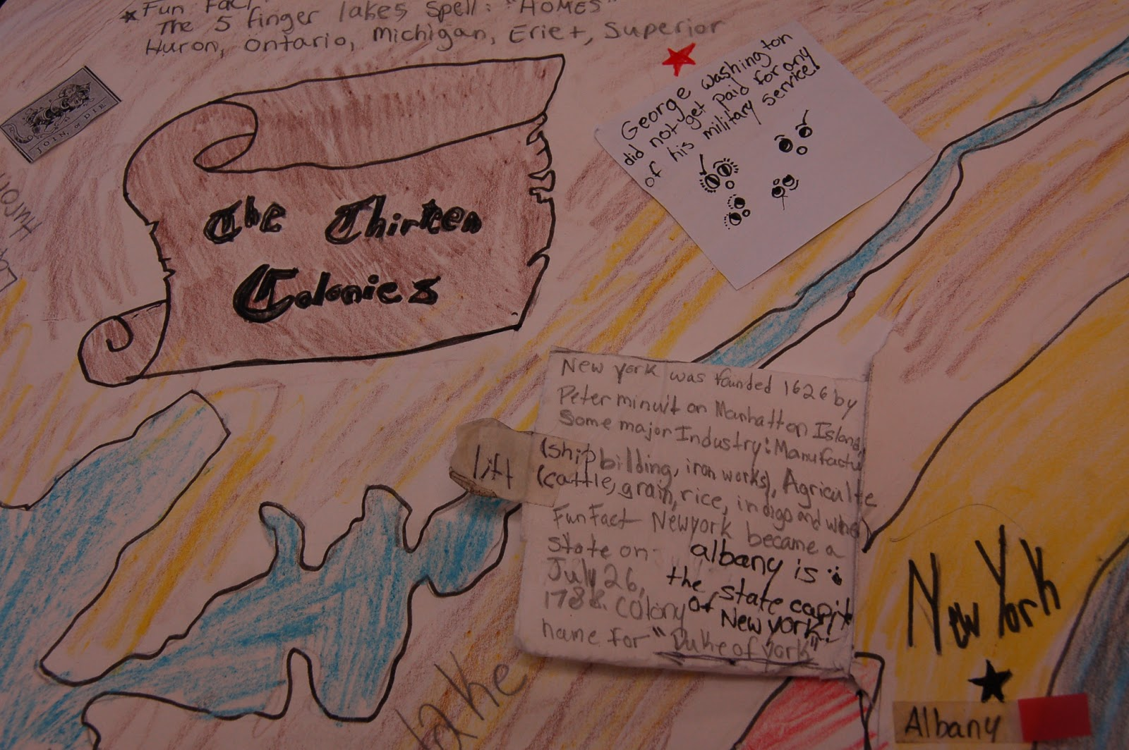 Colonial Major Projects : Teaching star students colonies project
