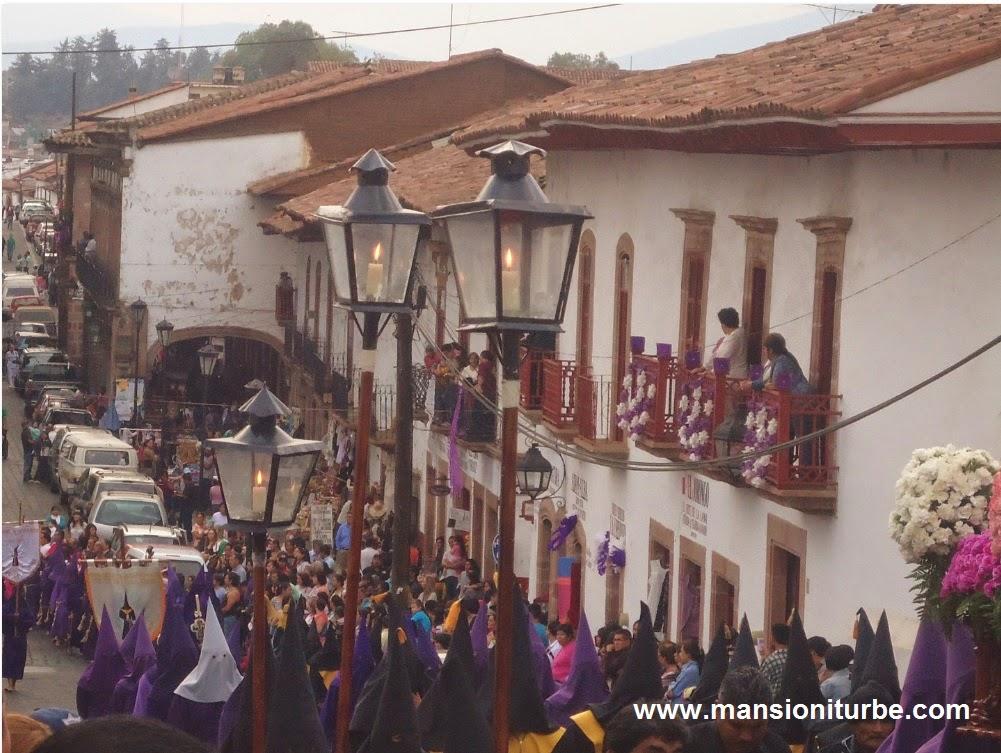 Procesión del Silencio en Pátzcuaro Michoacán