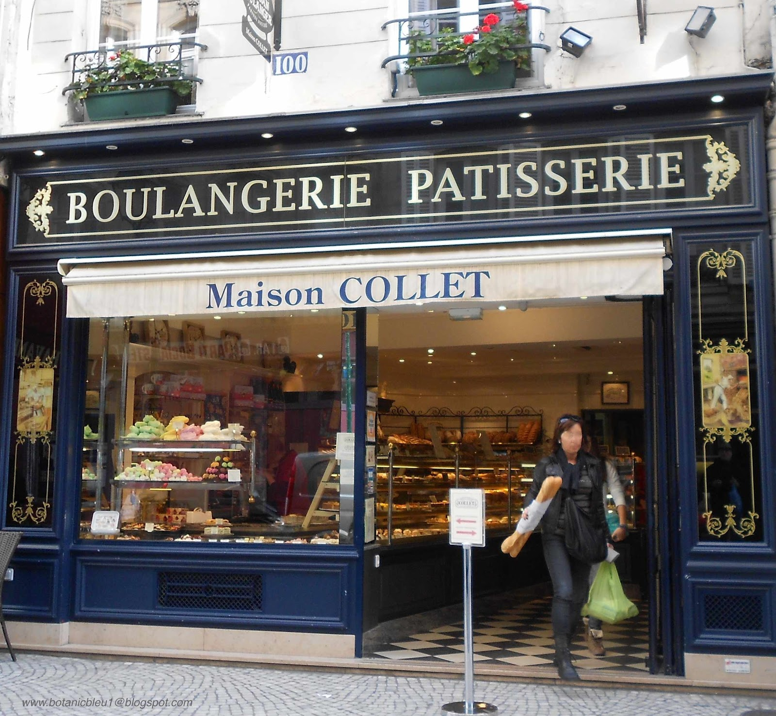 Botanic Bleu: French Boulangerie or Patisserie?