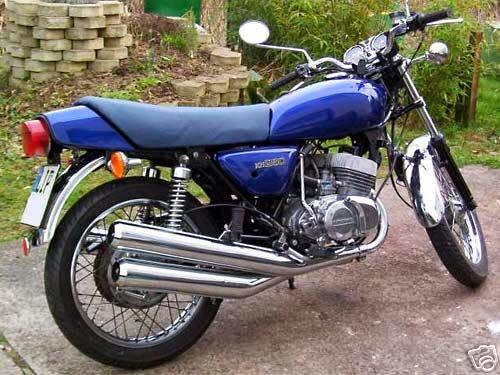 Gallery Foto Modifikasi Motor Yamaha Klasik