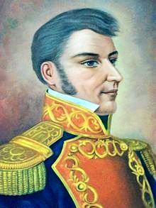 Dibujo de Ignacio López Rayón