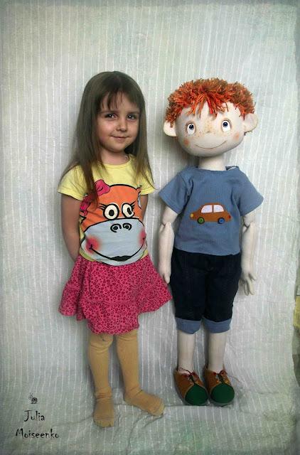 Как сделать большую куклу