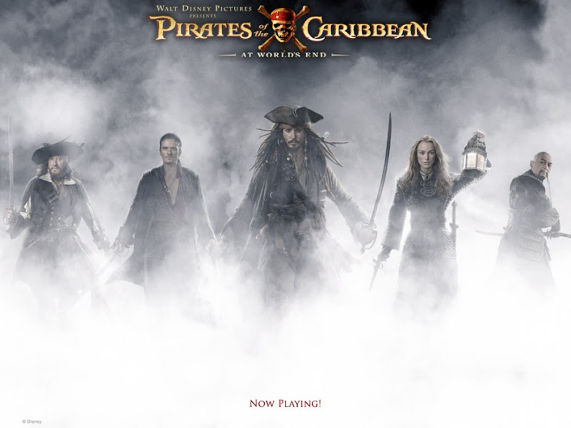 Pirates Caribbean At Worlds End movie poster