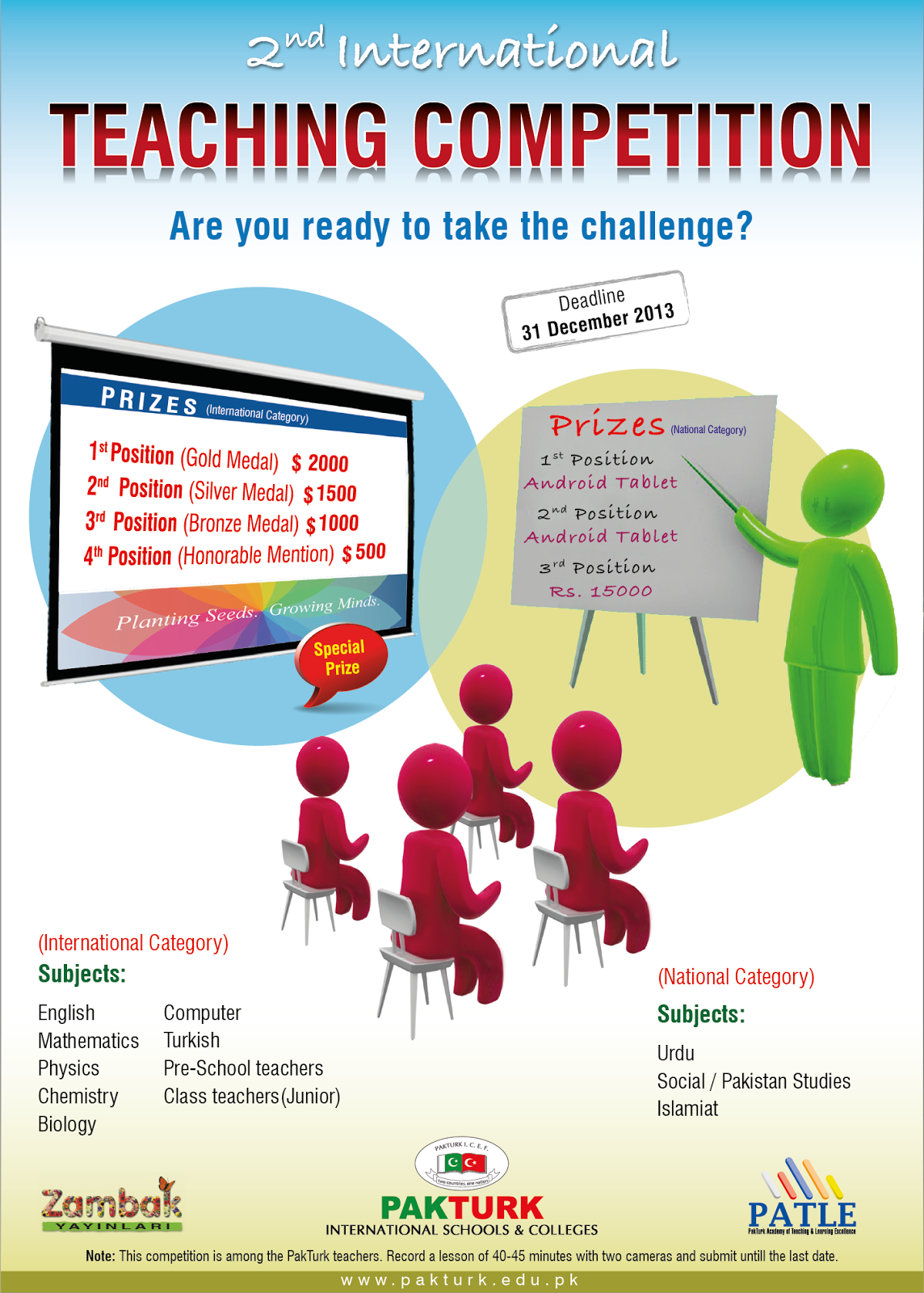 2nd International Teaching Competition