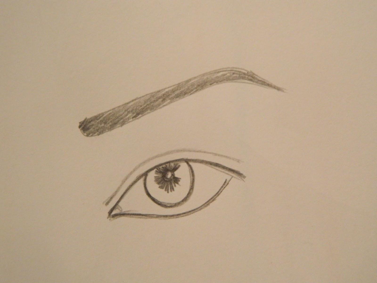 Contour Line Drawing Eye : Sketching 101: eyes haken's place