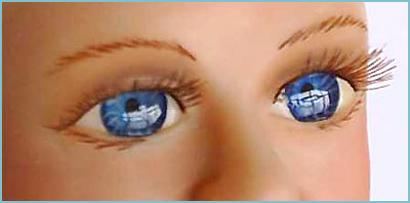 Глаза для куклы своими руками 588