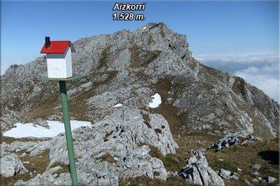 Aizkorri visto desde Aiztontor Altua