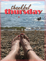 Thankful Thursday hosted in July by Lynn @ Spiritually Unequal Marriage