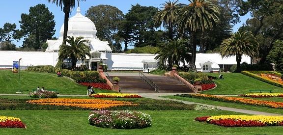 Conservatório das Flores em Golden Gate Park