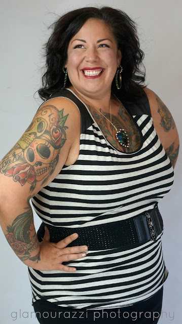 Plus Size Posing With Confidence