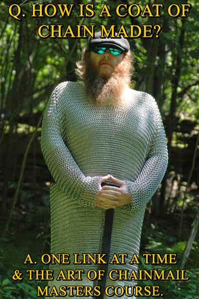 http://grumbledude.blogspot.com/p/the-art-of-chainmail.html