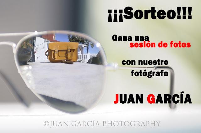 Sorteo sesión de fotos con Juan García