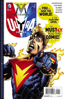 Cover to Multiversity: Ultra Comics #1 from DC Comics
