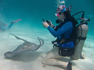 underwater digital camera, underwater photography