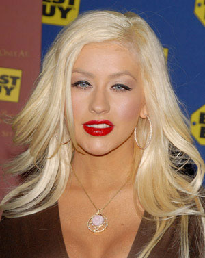 Christina Aguilera Wild Side Hairstyle.