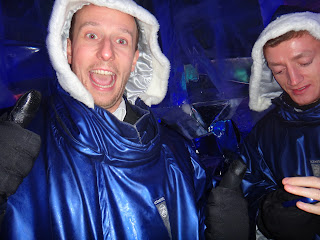 Ice Bar London Review and Pictures