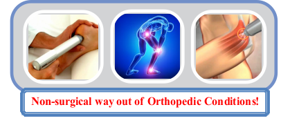 Shockwave Therapy (ESWT) - Non-surgical Way out of Orthopedic Conditions!
