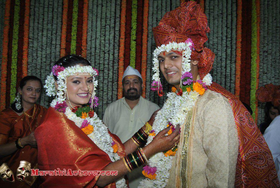 Prajakta mali marriage pics of shahid