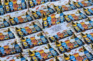 handmade, avengers invitations, superhero invitations