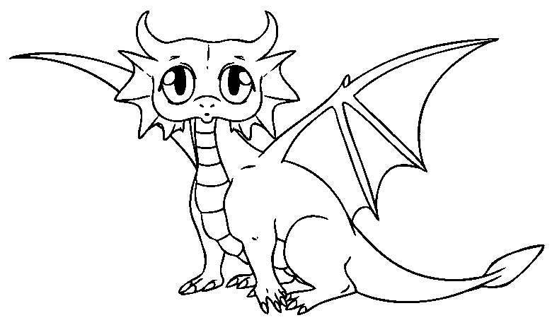 Line Drawing Dragon : Welcome enterarena spot