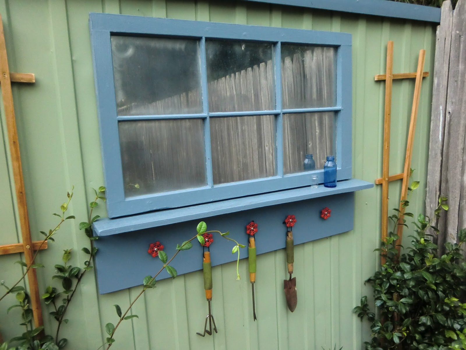 Shabby Glam Shed Makeover How To