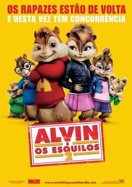 Alvin e os Esquilos 2 – Dublado (2009)
