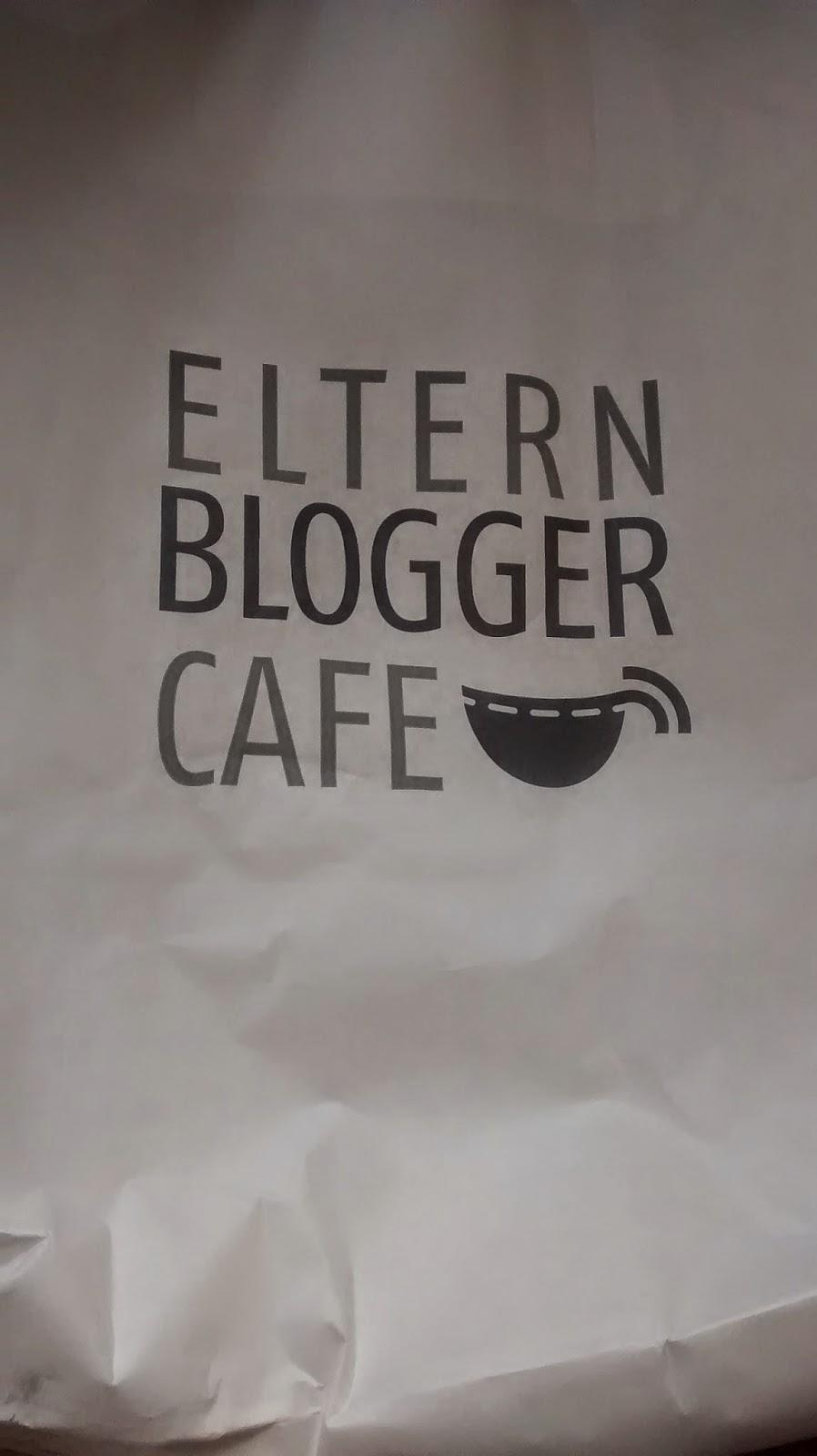 Runzelfuesschen beim Elternbloggercafe