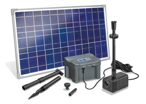 Jard n solar bater as estancas para bombas solares de jard n - Fuente solar jardin ...