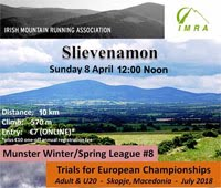 10k trail race nr Clonmel...Sun 8th Apr 2018