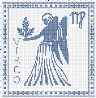 astrologia em ponto cruz