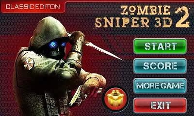 Zombie Sniper 3D 2 v1.0 Apk Free Download