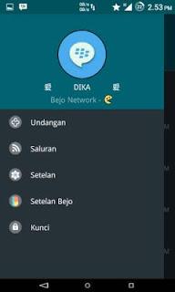 BBM MOD Bejo v4.0 Material Dark APK