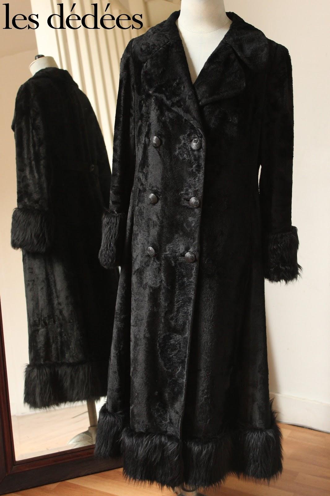 les dedees vintage recup creations un manteau r tro au poil by ben. Black Bedroom Furniture Sets. Home Design Ideas