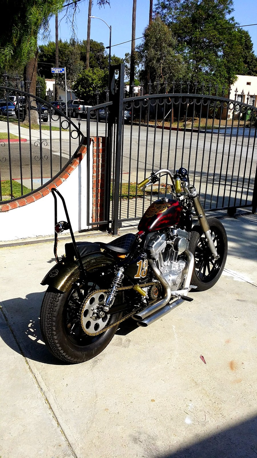 Machine 13 2010 Harley Sportster 883