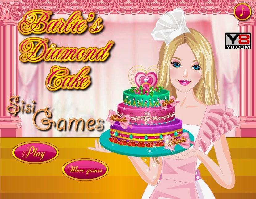 Permainan Memasak Kue Berlian Barbie