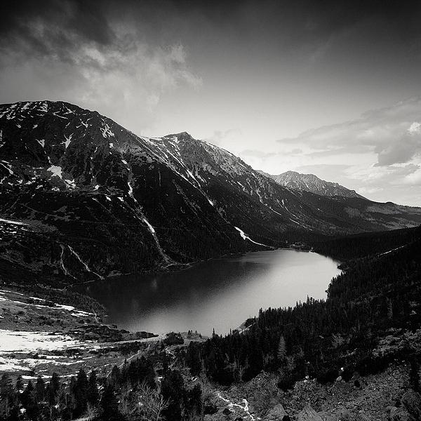Черно-белые пейзажи: Татры