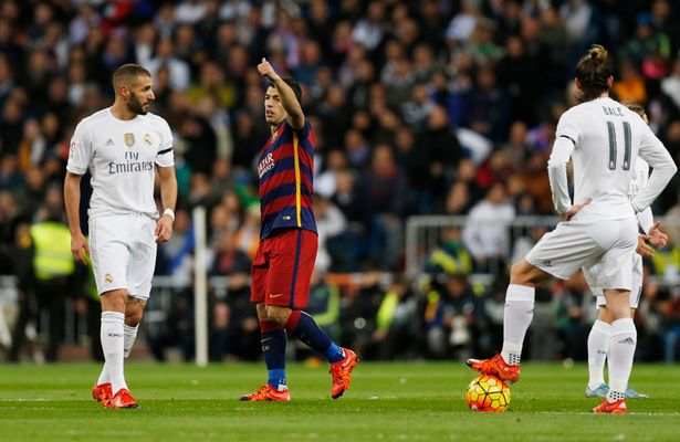 Teapot or tinpot? Real Madrid's forwards pull a familiar pose