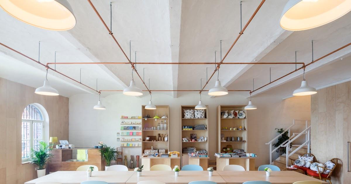Cafe e negozio per la casa sulla costa del kent by scott for Negozio tutto per la casa