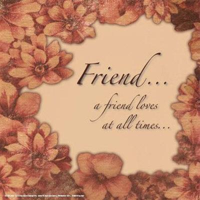 Kumpulan Kata-Kata Mutiara Persahabatan Sejati - Sahabat adalah mereka
