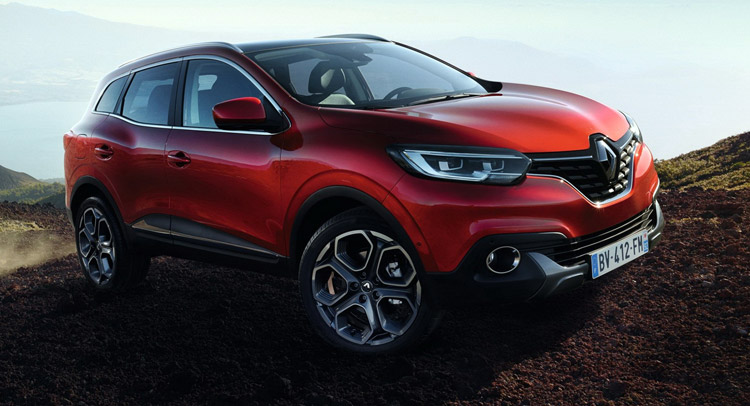 all new renault kadjar suv officially revealed 40 pics video. Black Bedroom Furniture Sets. Home Design Ideas