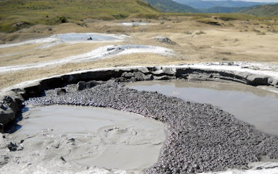 Small Activ Crater - Berca Mud Volcanoes Reservation