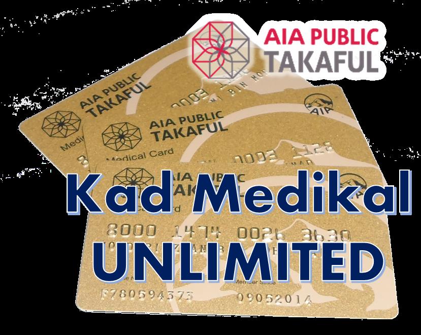 Kad Medikal UNLIMITED & 100% Cover