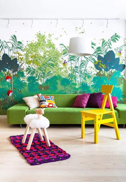hiasan dalaman rumah, dekorasi rumah, warna dinding, perabot