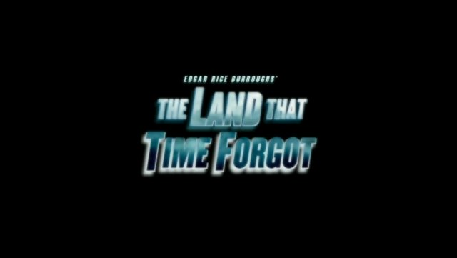 Edgar Rice Burroughs' The Land That Time Forgot title