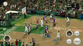 Screenshots of the NBA 2K16 for Android tablet, phone.