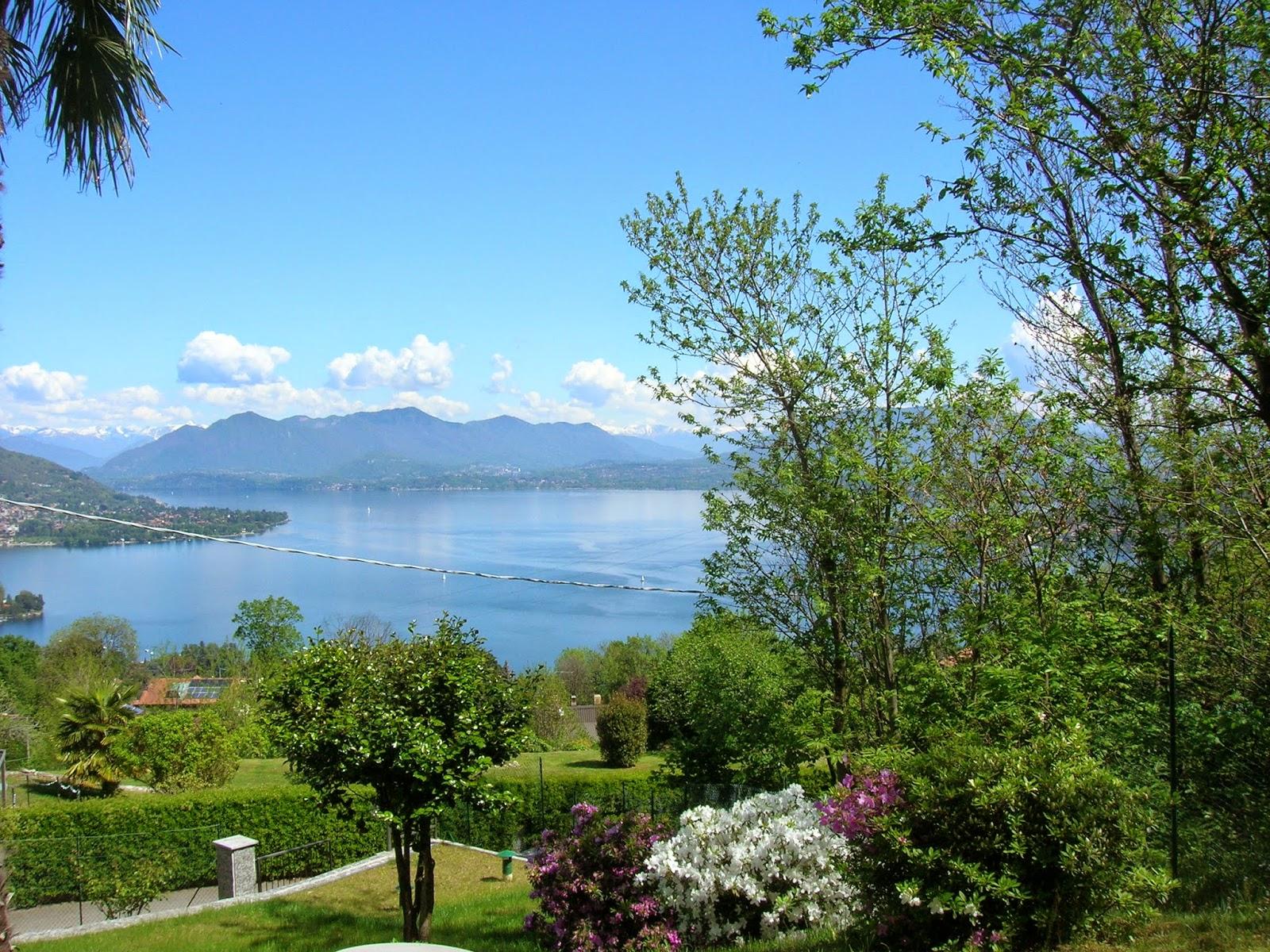 ali alla fantasia: B&B La Terrazza sul lago a Dagnente - Arona e ...
