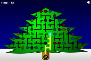 Елочка гори - логическая игра