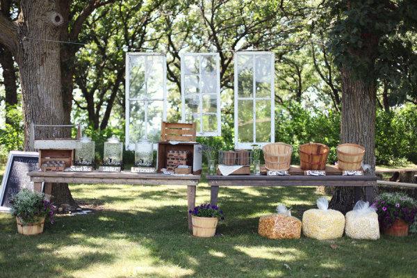 Buffet Rustico Matrimonio : Why not wedding matrimonio autunnale rustico