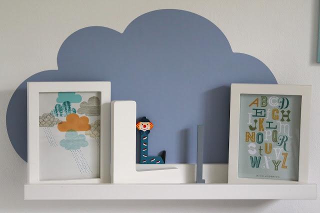 Wolkenreich Regale IKEA Ribba Bilderleiste Limmaland